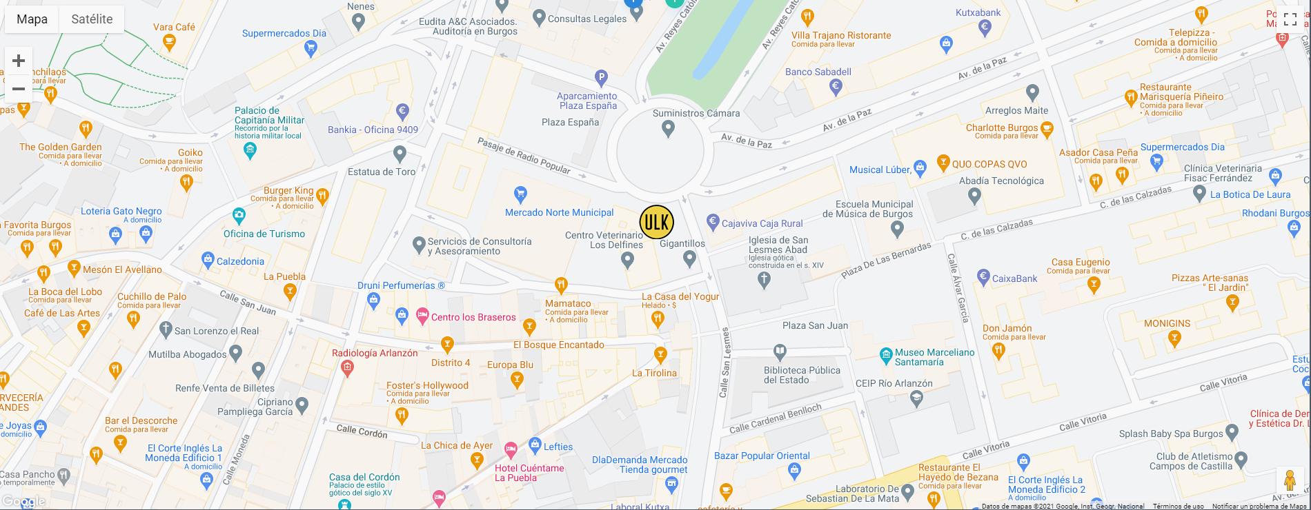 ulk-consulting-map